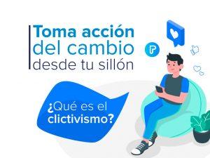 Clictivismo (activismo de sillón) llevado a la acción