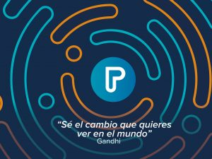Una visión, una plataforma y una comunidad de personas con el propósito de ser el cambio que queremos ver en el mundo.